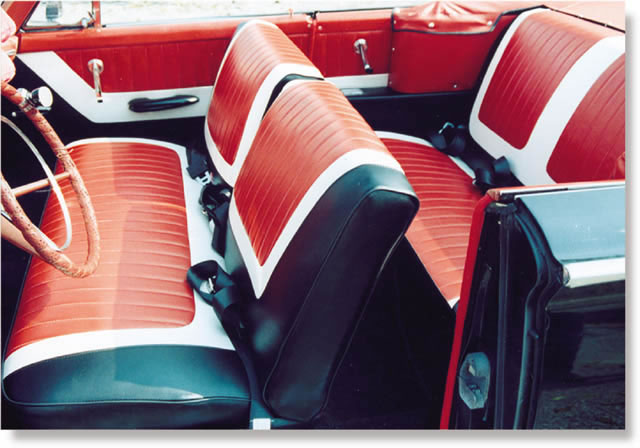 automat original upholstery photo gallery ford sunliner. Black Bedroom Furniture Sets. Home Design Ideas